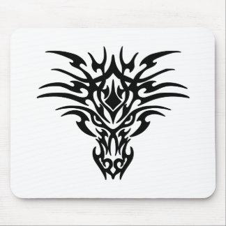 Alfombrilla De Ratón Cara-Dragón-Tatuaje