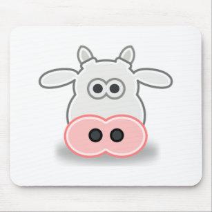Cara De Vaca Dibujo Animado