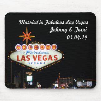 Alfombrilla De Ratón ¡Casado en Las Vegas personalizó Mousepad!
