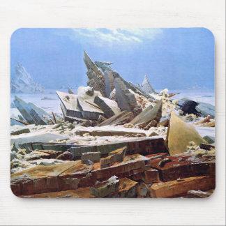 Alfombrilla De Ratón CASPAR DAVID FRIEDRICH - el mar del hielo 1824