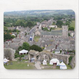 Alfombrilla De Ratón Castillo de Corfe, Dorset, Inglaterra