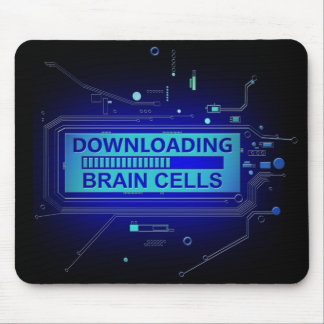 Alfombrilla De Ratón Células cerebral de la transferencia