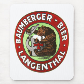 Alfombrilla De Ratón Cervecería Baumberger Langenthal Mauspad