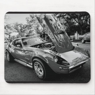 Alfombrilla De Ratón Chevrolet Corvette 1969 con inglés del