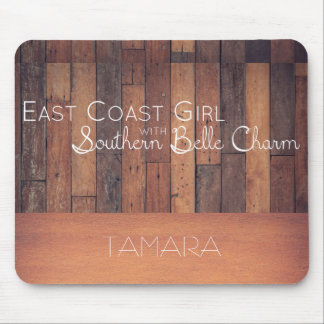 Alfombrilla De Ratón Chica de la costa este con encanto meridional de