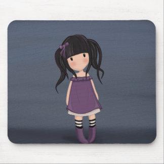 Alfombrilla De Ratón Chica del carro en púrpura