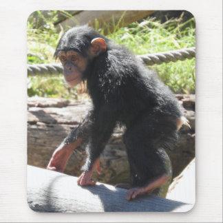 Alfombrilla De Ratón Chimpancé del bebé