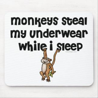 Alfombrilla De Ratón Chiste Mousepads del mono
