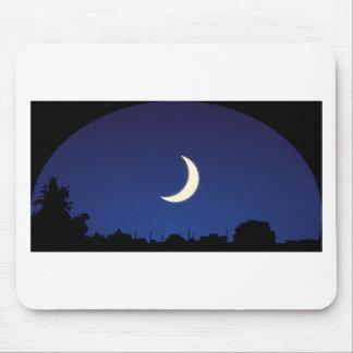 Alfombrilla De Ratón Cielo del claro de luna