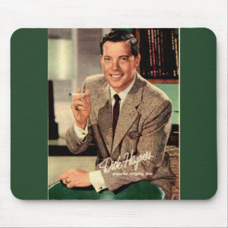 Alfombrilla De Ratón circa Dick 1950 Haymes del anuncio del cigarrillo