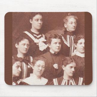 Alfombrilla De Ratón circa el coro de 1905 mujeres