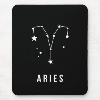 Alfombrilla De Ratón Cita de la muestra del zodiaco del aries