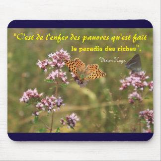 alfombrilla de ratón cita Victor Hugo