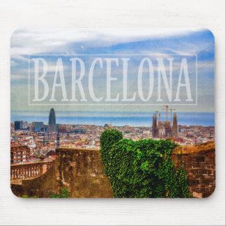 Alfombrilla De Ratón Ciudad de Barcelona