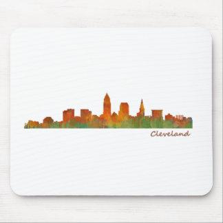 Alfombrilla De Ratón cleveland Ohio USA Skyline city v01