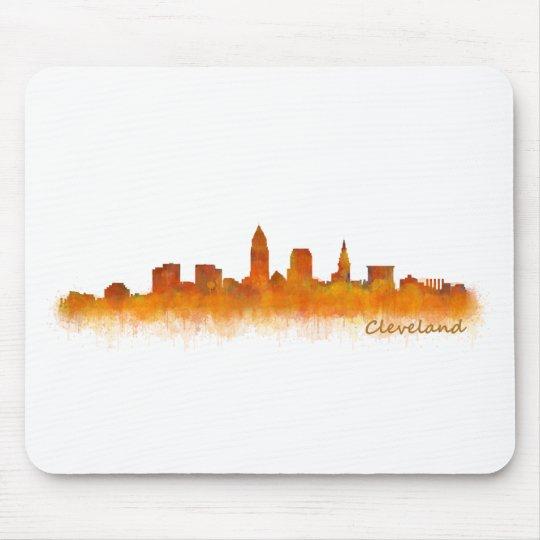 Alfombrilla De Ratón cleveland Ohio USA Skyline city v02