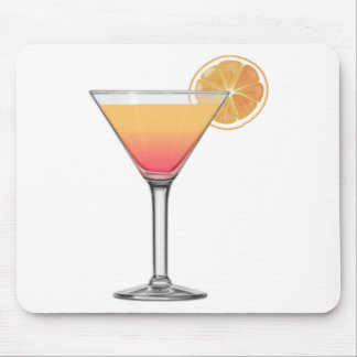 Alfombrilla De Ratón Cóctel de la salida del sol del Tequila