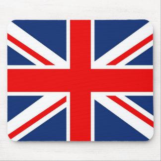 Alfombrilla De Ratón Cojín de ratón británico de la bandera