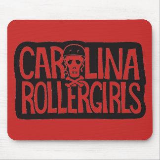 Alfombrilla De Ratón Cojín de ratón de Carolina Rollergirls