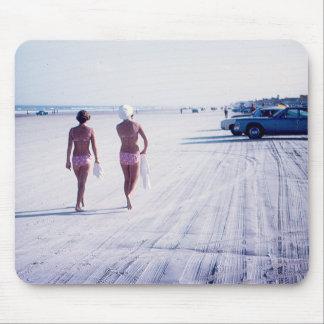 Alfombrilla De Ratón Cojín de ratón de Daytona Beach del vintage