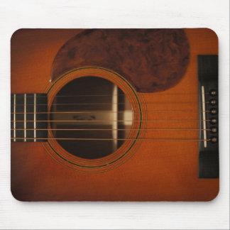 Alfombrilla De Ratón Cojín de ratón de la guitarra acústica