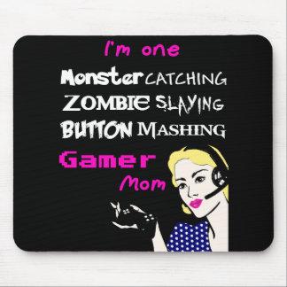 Alfombrilla De Ratón Cojín de ratón de la mamá del videojugador