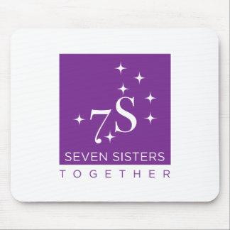 Alfombrilla De Ratón Cojín de ratón de siete hermanas junto
