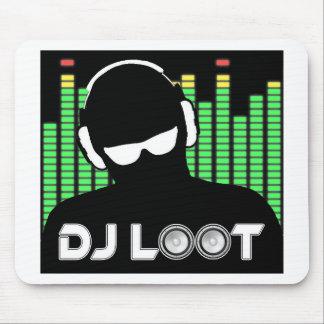 Alfombrilla De Ratón Cojín de ratón del botín de DJ