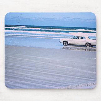 Alfombrilla De Ratón Cojín de ratón del coche de la playa del vintage