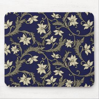 Alfombrilla De Ratón Cojín de ratón del diseño floral del vintage -