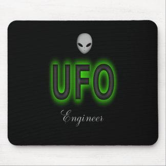 Alfombrilla De Ratón Cojín de ratón del ingeniero del UFO