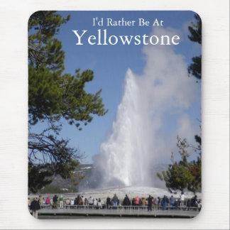Alfombrilla De Ratón Cojín de ratón del parque nacional de Yellowstone