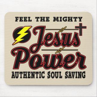 Alfombrilla De Ratón Cojín de ratón del poder de Jesús