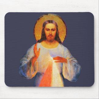 Alfombrilla De Ratón Cojín de ratón divino de la misericordia de Jesús