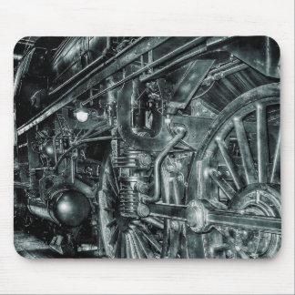 Alfombrilla De Ratón Cojín de ratón locomotor retro del motor de vapor