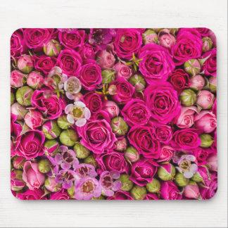 Alfombrilla De Ratón Cojín de ratón rosado bonito de la imagen de la