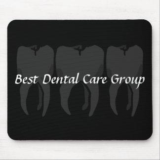 Alfombrilla De Ratón Cojín de ratón sabio del dentista de tres dientes