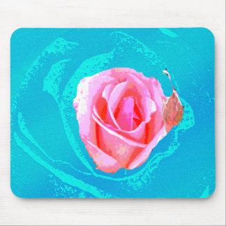 Alfombrilla De Ratón color de rosa psicodélico