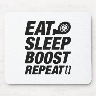 Alfombrilla De Ratón Coma la repetición del alza del sueño