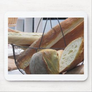 Alfombrilla De Ratón Composición con diversos tipos de pan cocido