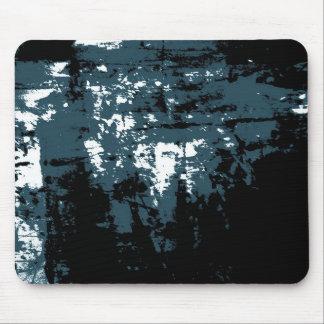 Alfombrilla De Ratón Composición multi azul gris abstracta