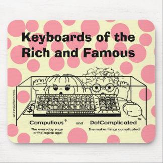 Alfombrilla De Ratón Computious y DotComplicated (TM) Bling-Bling