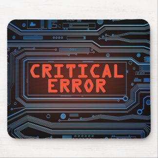 Alfombrilla De Ratón Concepto del error crítico