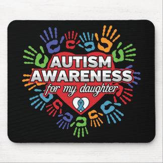 Alfombrilla De Ratón Conciencia del autismo para mi hija