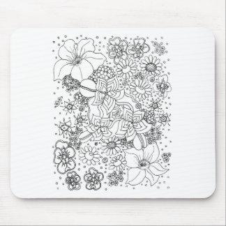Alfombrilla De Ratón Conglomeración de flores