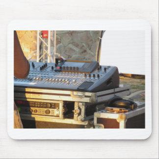 Alfombrilla De Ratón Consola de mezcla audio profesional
