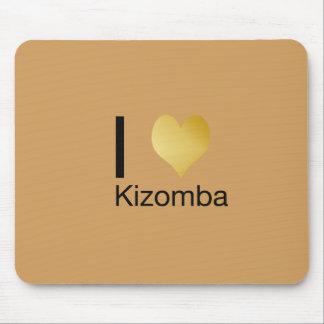 Alfombrilla De Ratón Corazón juguetónamente elegante Kizomba de I