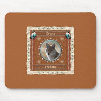 Alfombrilla De Ratón Coyote - trickster Mousepad