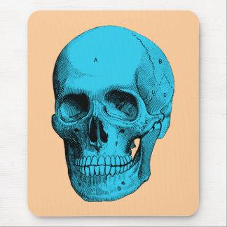 Alfombrilla De Ratón Cráneo humano de la anatomía