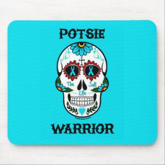 Alfombrilla De Ratón Cráneo… P.O.T.S. del guerrero/del azúcar